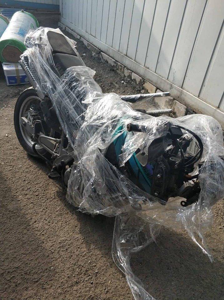 """Розібраний на деталі: через КПП """"Ужгород"""" намагались провезти мотоцикл «Yamaha» (ФОТО), фото-1"""