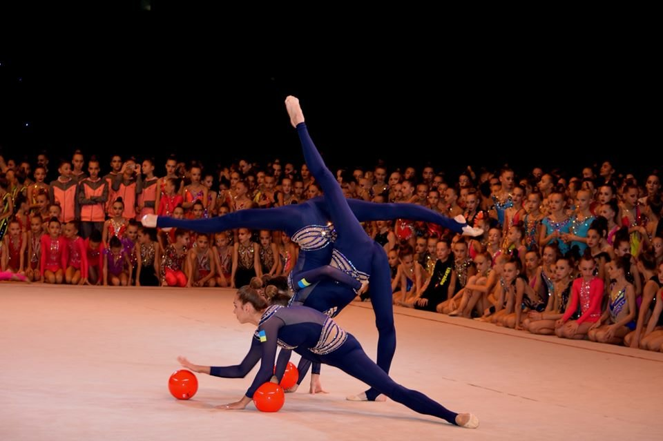 """В Ужгороді в """"Юності"""" змагаються понад 900 гімнасток з усієї України (ФОТО), фото-11"""