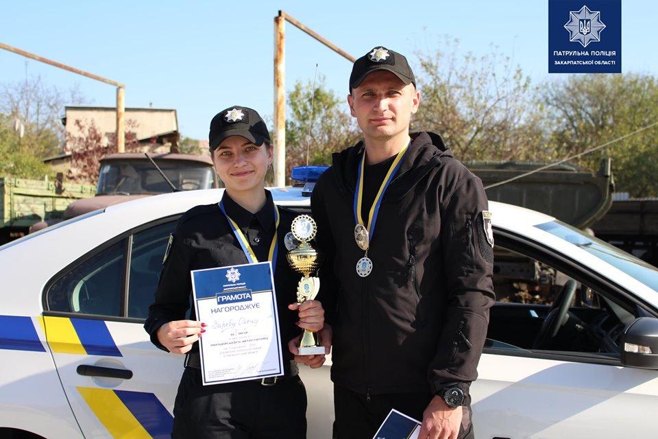 В Ужгороді патрульні змагались у навичках керування службовим автомобілем (ФОТО, ВІДЕО), фото-8