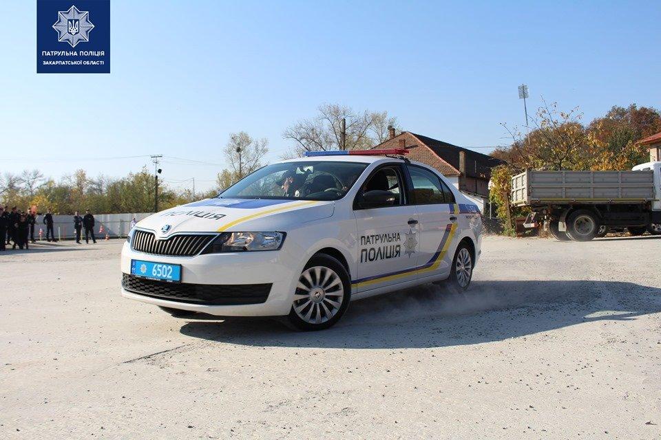 В Ужгороді патрульні змагались у навичках керування службовим автомобілем (ФОТО, ВІДЕО), фото-2
