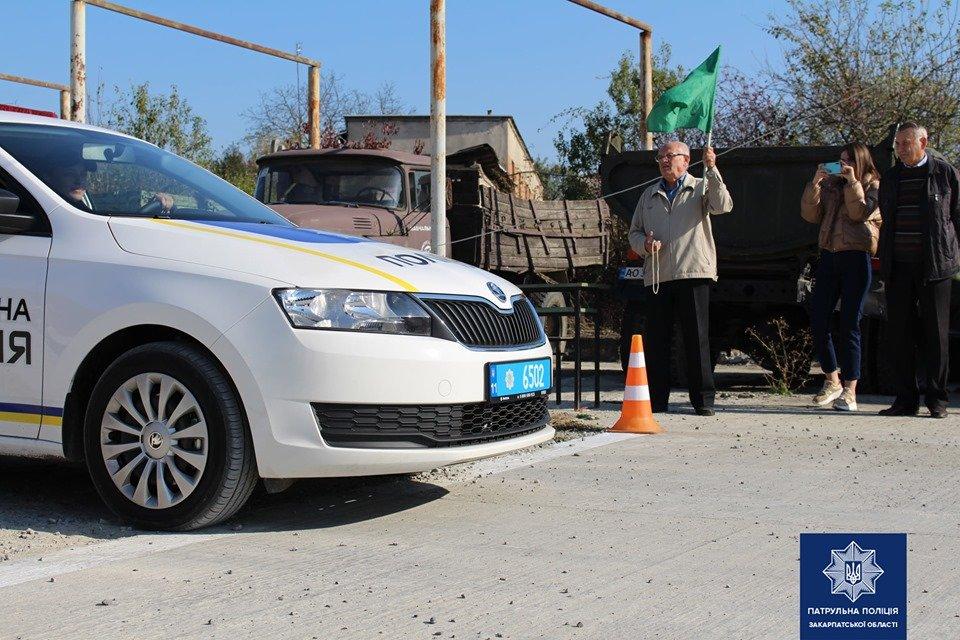 В Ужгороді патрульні змагались у навичках керування службовим автомобілем (ФОТО, ВІДЕО), фото-1