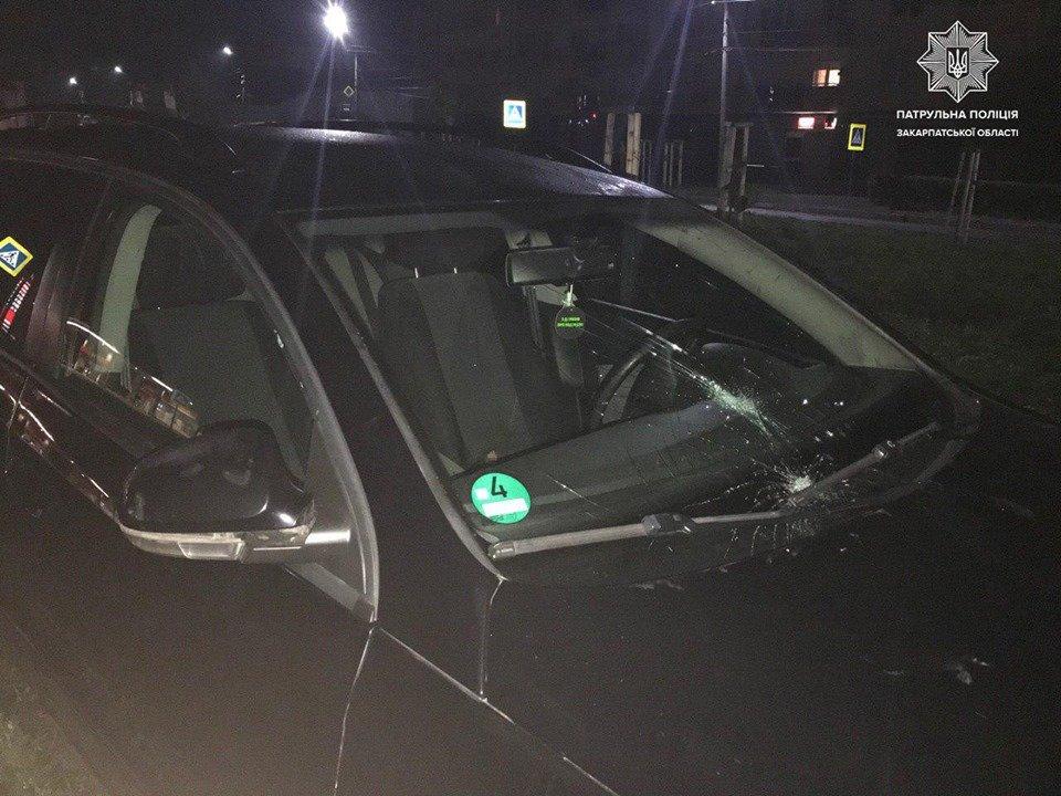 У Мукачеві із погонею затримували водія іномарки (ФОТО, ВІДЕО), фото-2