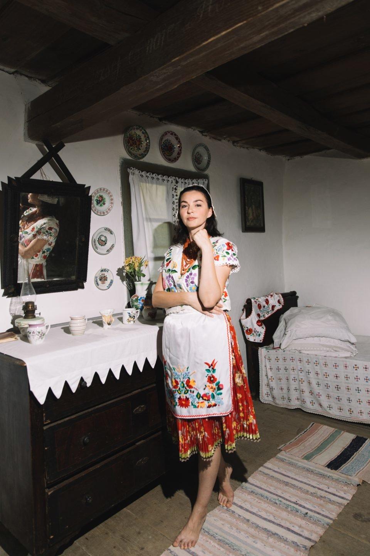 Історичне вбрання жінок Закарпаття презентували в сучасних образах (ФОТО, ВІДЕО), фото-6