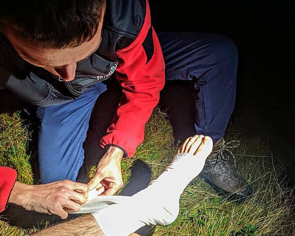 Рятувальники допомогли жителю Львова, який травмувався у горах Закарпаття, фото-3
