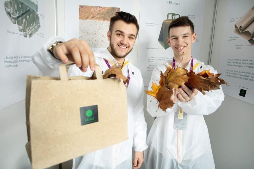 """Проєкт закарпатця """"RE-leaf PAPER"""" став призером на міжнародному конкурсі стартапів (ФОТО), фото-2"""