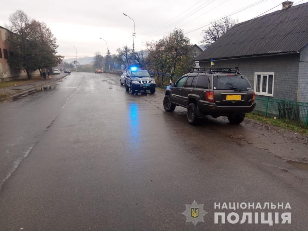 На Тячівщині водій наїхав на пенсіонерку: жінка померла дорогою до лікарні, фото-1