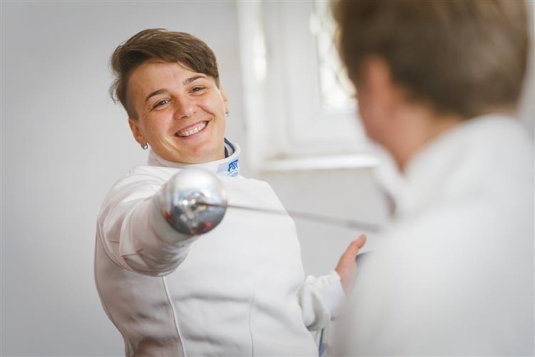 Шалена воля та 6 тренувань щотижня: Ужгородська фехтувальниця проходить відбір на Паралімпіаду-2020, фото-1