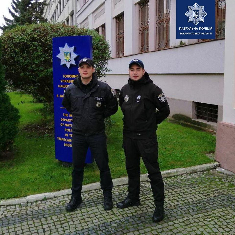 Патрульних, які затримали ґвалтівника в Ужгороді, заохотили преміями (ФОТО), фото-2
