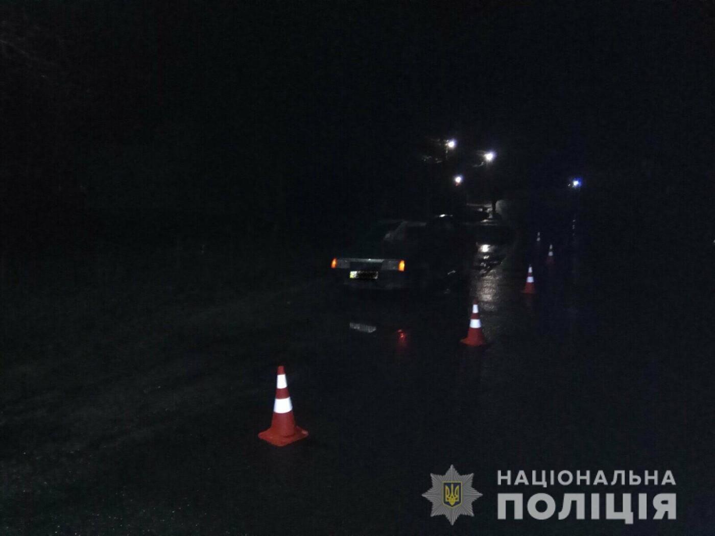 У двох ДТП на Тячівщині важкі травми отримали 73-річний велосипедист та 48-річний пішохід , фото-1