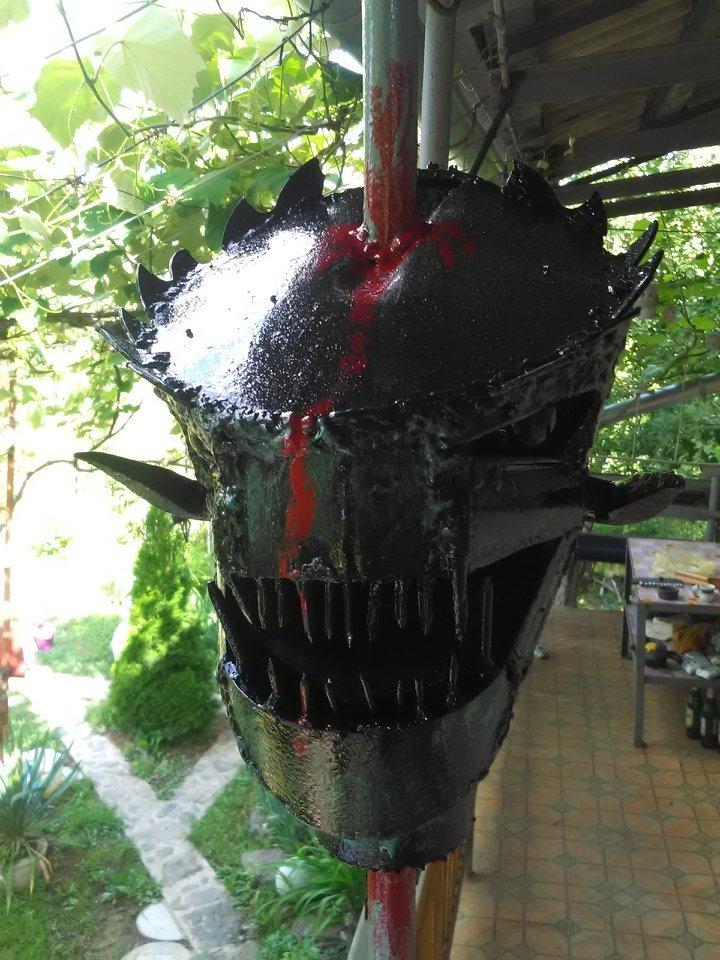 Ужгородець створює неймовірні скульптури з непотрібних автозапчастин (ФОТО), фото-7