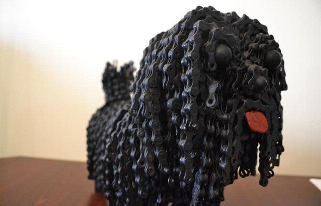 Ужгородець створює неймовірні скульптури з непотрібних автозапчастин (ФОТО), фото-2
