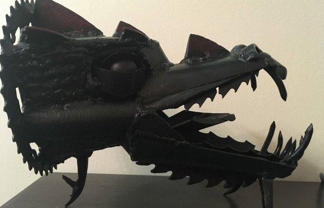 Ужгородець створює неймовірні скульптури з непотрібних автозапчастин (ФОТО), фото-3