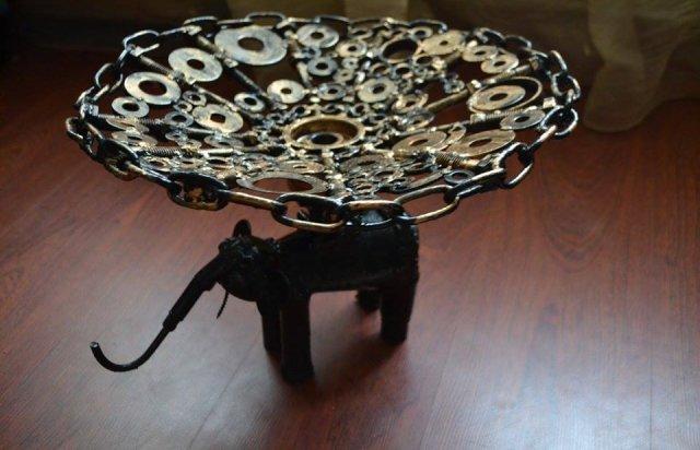 Ужгородець створює неймовірні скульптури з непотрібних автозапчастин (ФОТО), фото-4