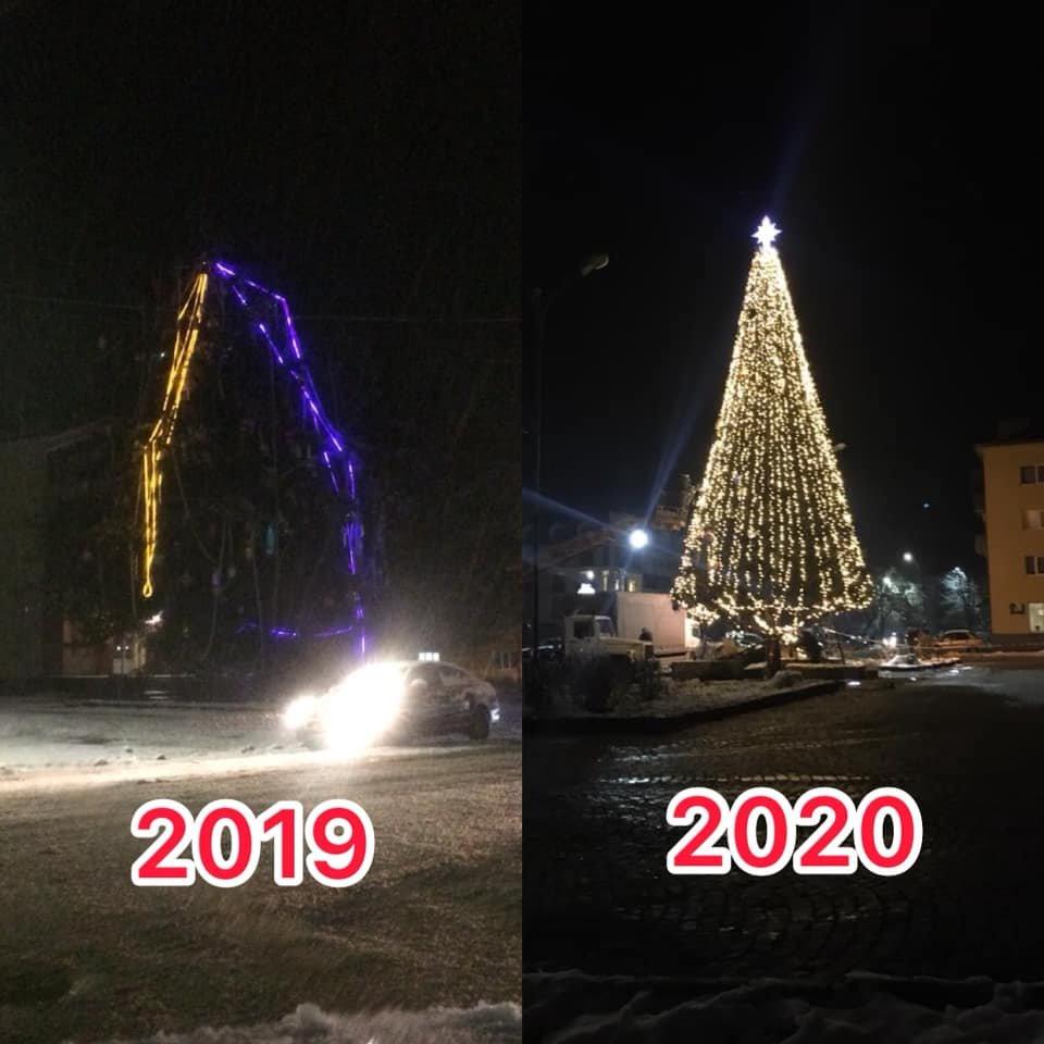 На Закарпатті встановили ще одну новорічну ялинку (ФОТО), фото-5