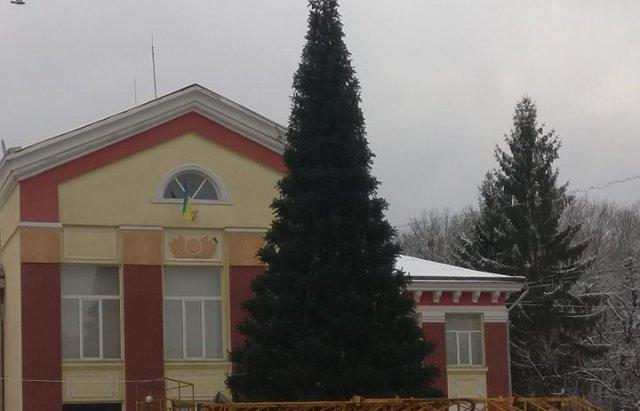 На Закарпатті встановили ще одну новорічну ялинку (ФОТО), фото-1