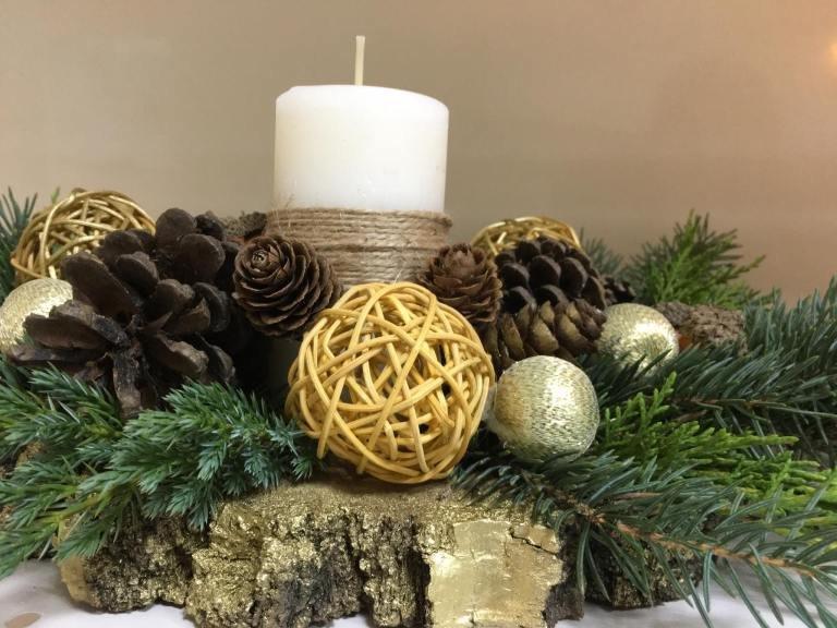 Ужгородські лісівники виготовили новорічні аксесуари, які планують продавати (ФОТО), фото-4
