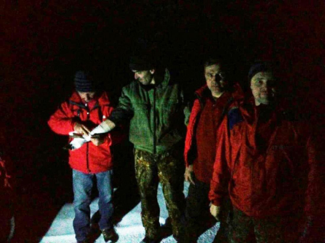 Рятувальники знайшли закарпатця, який з травмою руки застряг у горах за 30 км від цивілізації (ФОТО), фото-2