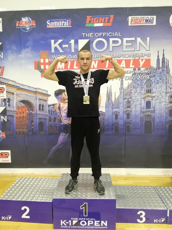 Закарпатець Ярослав Поп'юк став Чемпіоном світу з кікбоксингу К-1 OPEN (ФОТО), фото-1