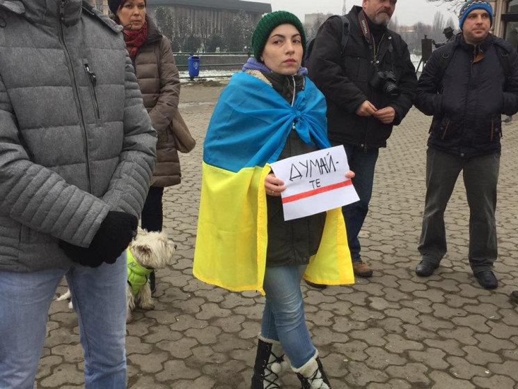 """В Ужгороді відбулось всеукраїнське віче """"Червоні лінії для Зеленського"""" (ВІДЕО), фото-1"""