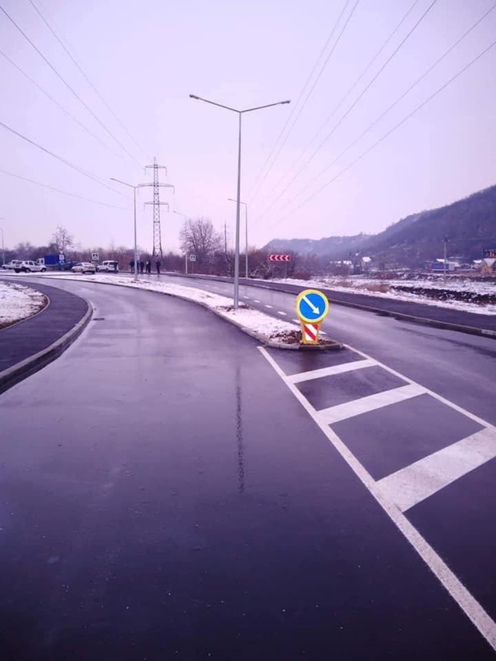 У тестовому режимі запрацювала нова дорожня розв'язка у Мукачеві (ФОТО), фото-5