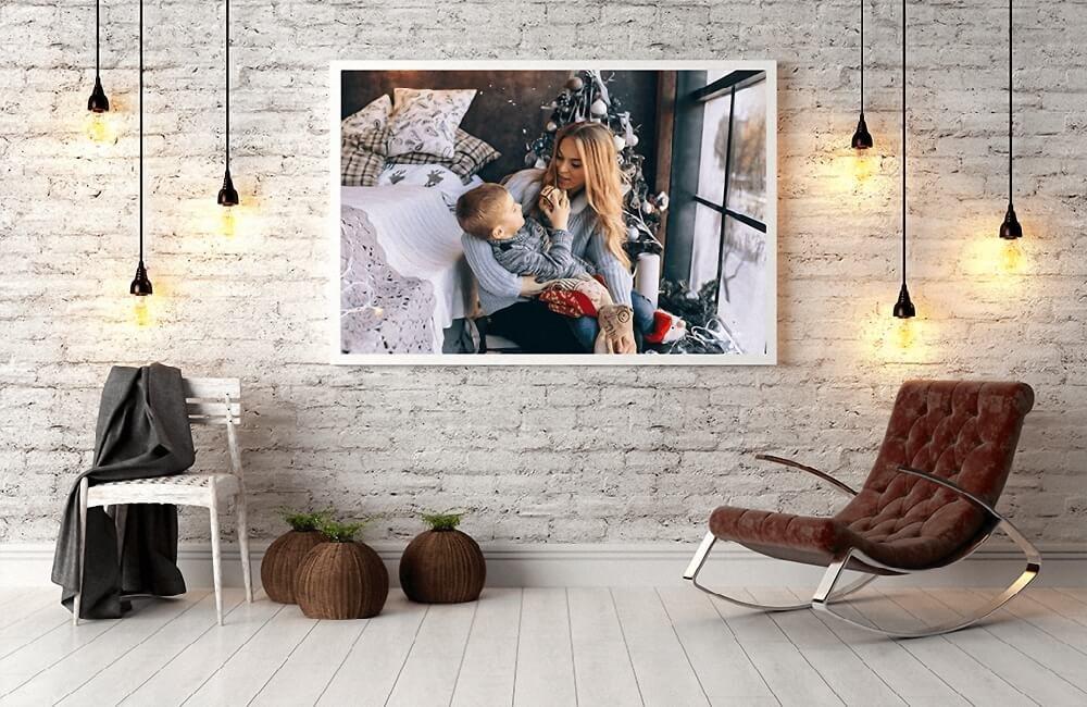Фото на полотні (холсті)  - варіант незабутнього подарунку до Нового року, фото-1