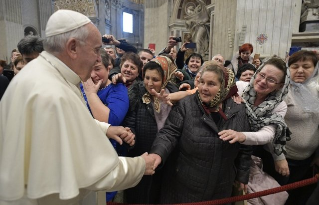 Закарпатські паломники зустрілися із Папою Римським (ВІДЕО), фото-2