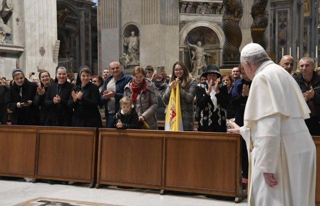 Закарпатські паломники зустрілися із Папою Римським (ВІДЕО), фото-6