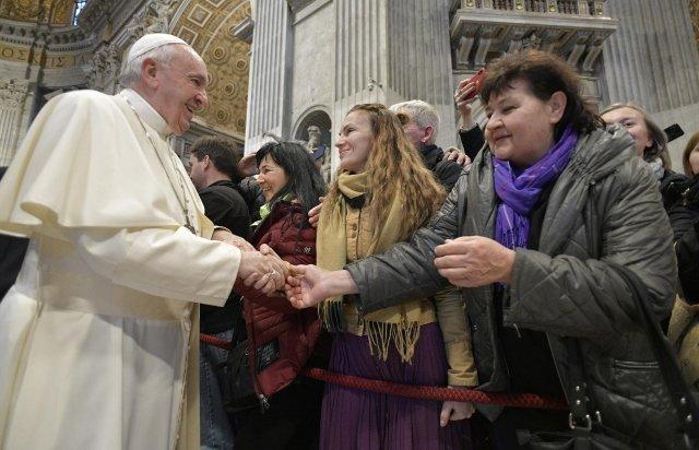 Закарпатські паломники зустрілися із Папою Римським (ВІДЕО), фото-8