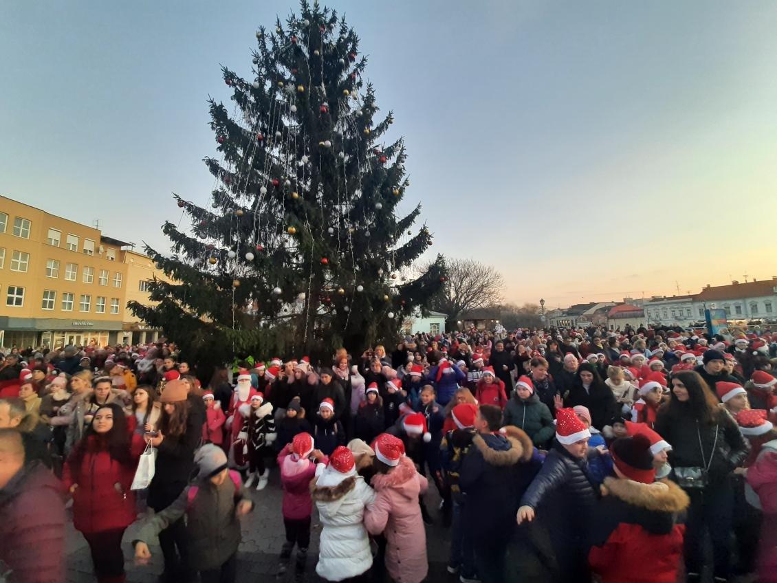 Майже дві сотні учасників: ужгородський парад Миколайчиків став рекордним за кількістю людей, фото-4