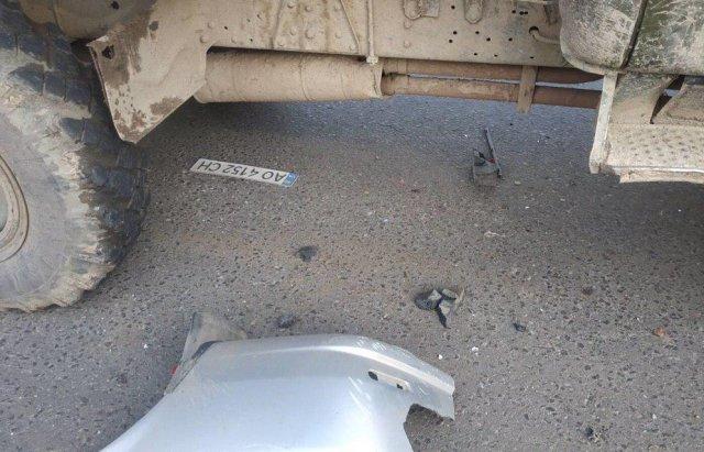 Масштабна автотроща на Закарпатті: Зіткнулись вантажівка та 3 легкові авто (ФОТО), фото-9