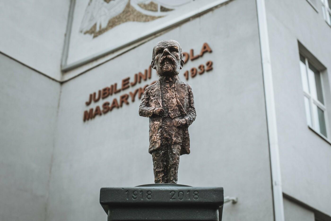 В Ужгороді відкрили ювілейну, 45-ту, мініскульптуру (ФОТО, ВІДЕО), фото-1