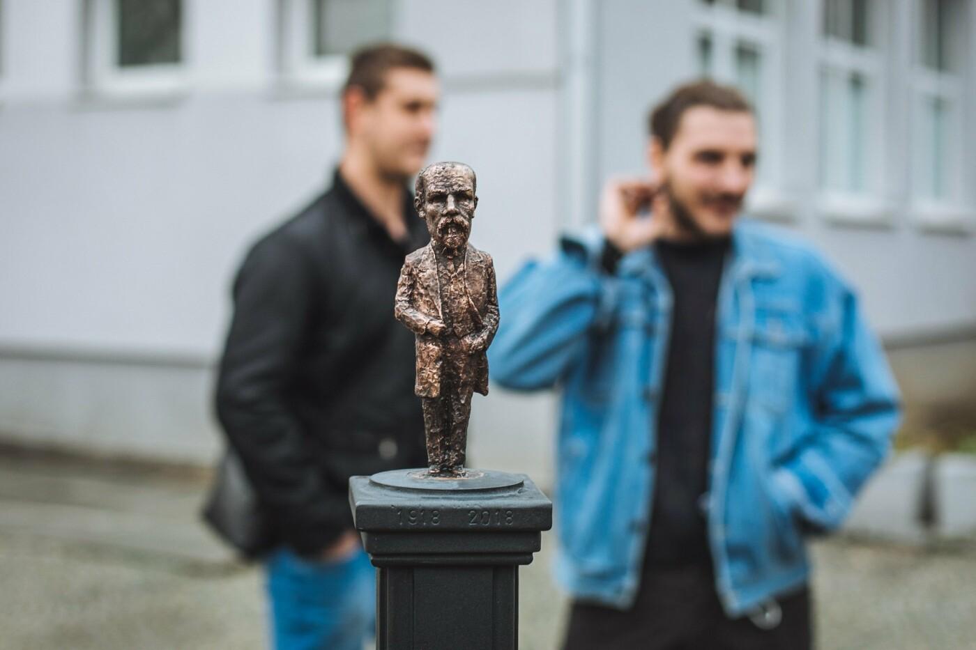 В Ужгороді відкрили ювілейну, 45-ту, мініскульптуру (ФОТО, ВІДЕО), фото-4