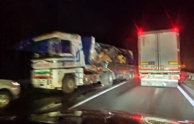 У моторошному зіткненні двох вантажівок загинув 27-річний закарпатець (ФОТО, ВІДЕО), фото-1
