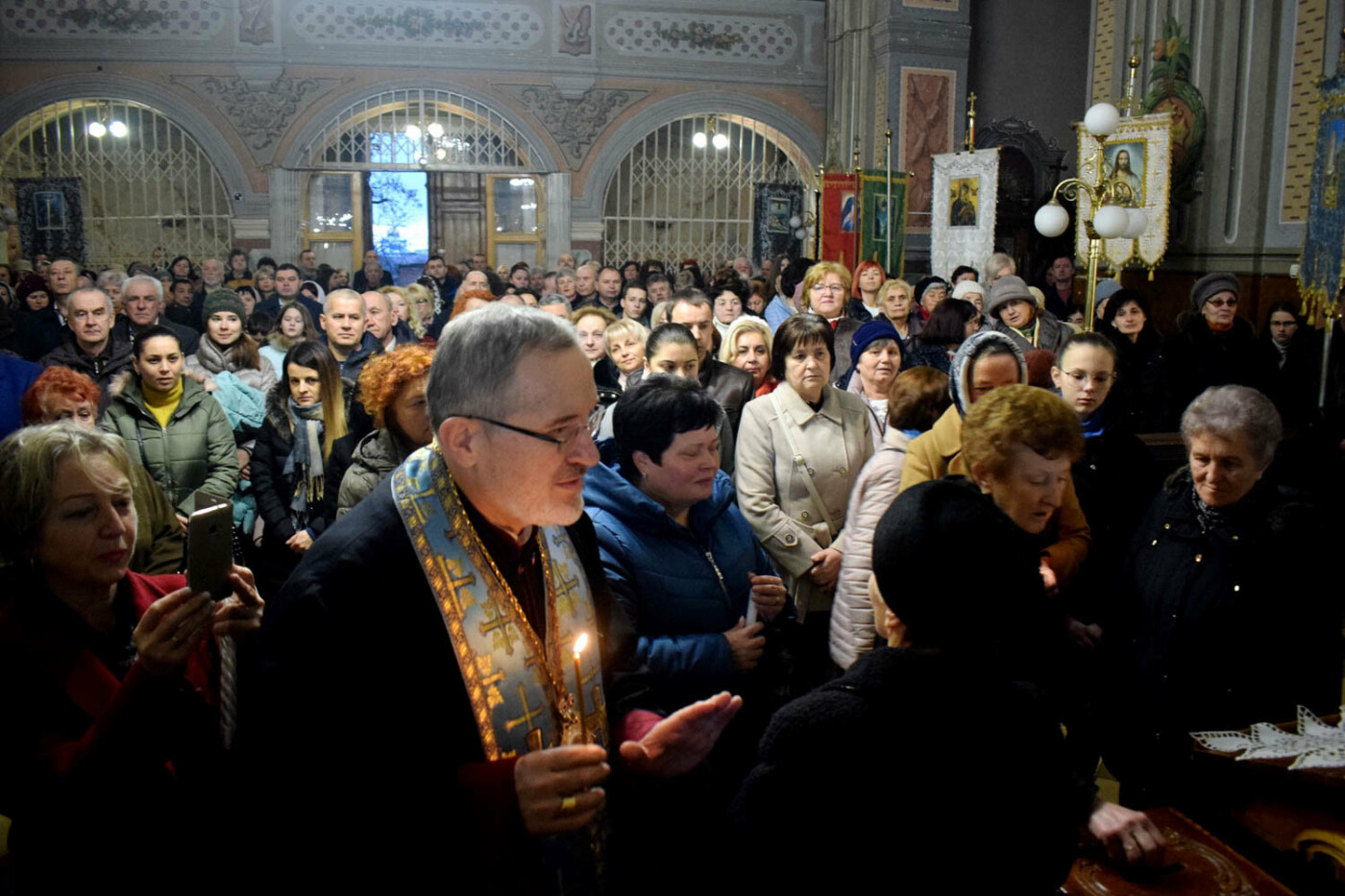 До Ужгорода привезли Вифлеємський вогонь миру (ФОТО), фото-14