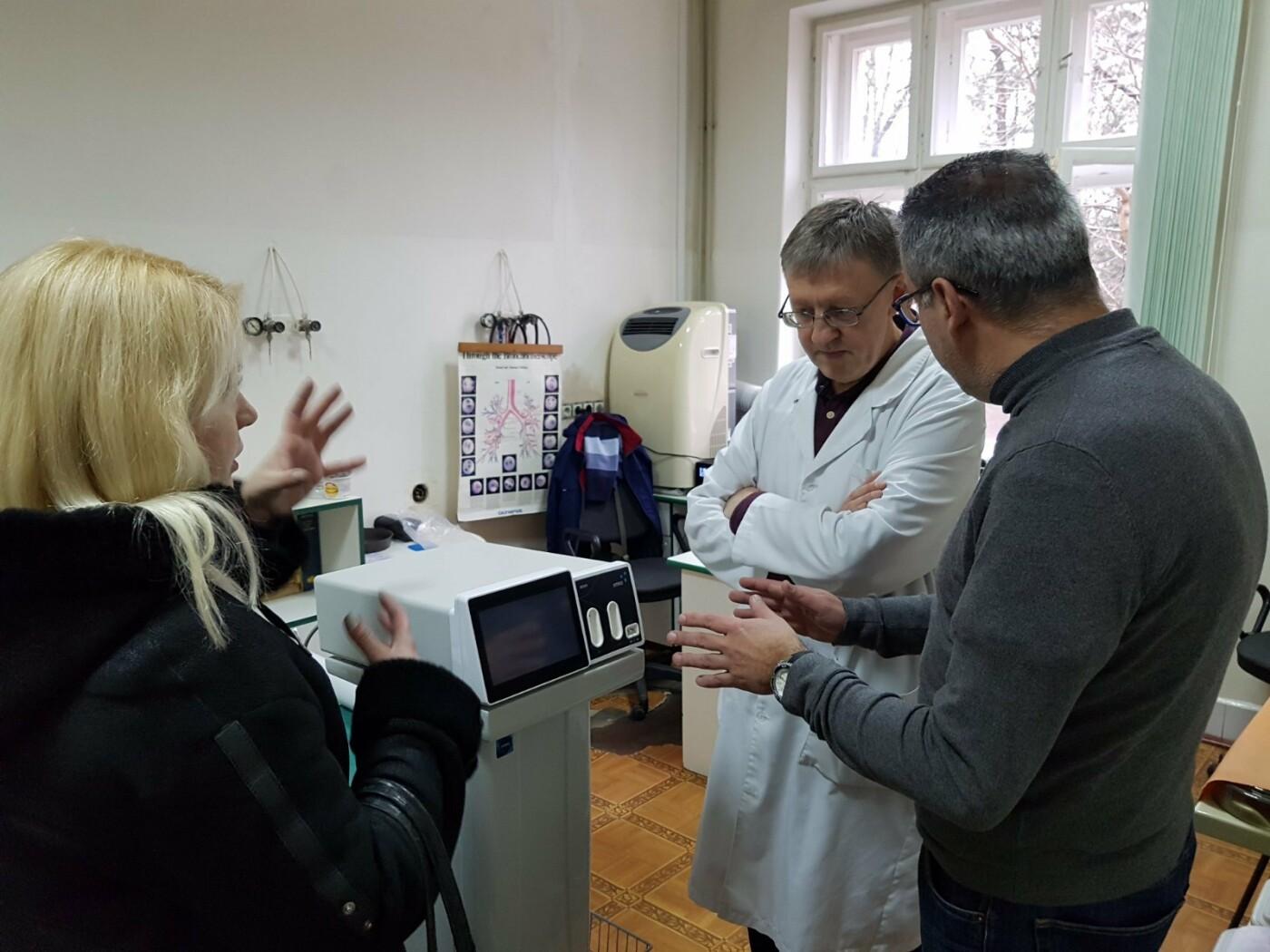 В ужгородському Центрі легеневих хвороб з'явився сучасний відеобронхоскоп (ФОТО, ВІДЕО), фото-1