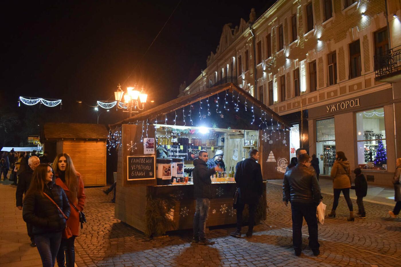 Яскраві ілюмінації, фотозони та ярмарок: в Ужгороді панує святкова атмосфера (ФОТОРЕПОРТАЖ), фото-6