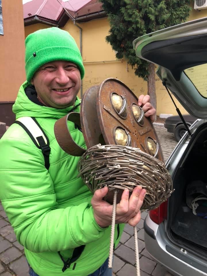 """У Мукачеві встановили міні-скульптурку перед будівлею кінотеатру """"SCALA"""" (ФОТО), фото-5"""