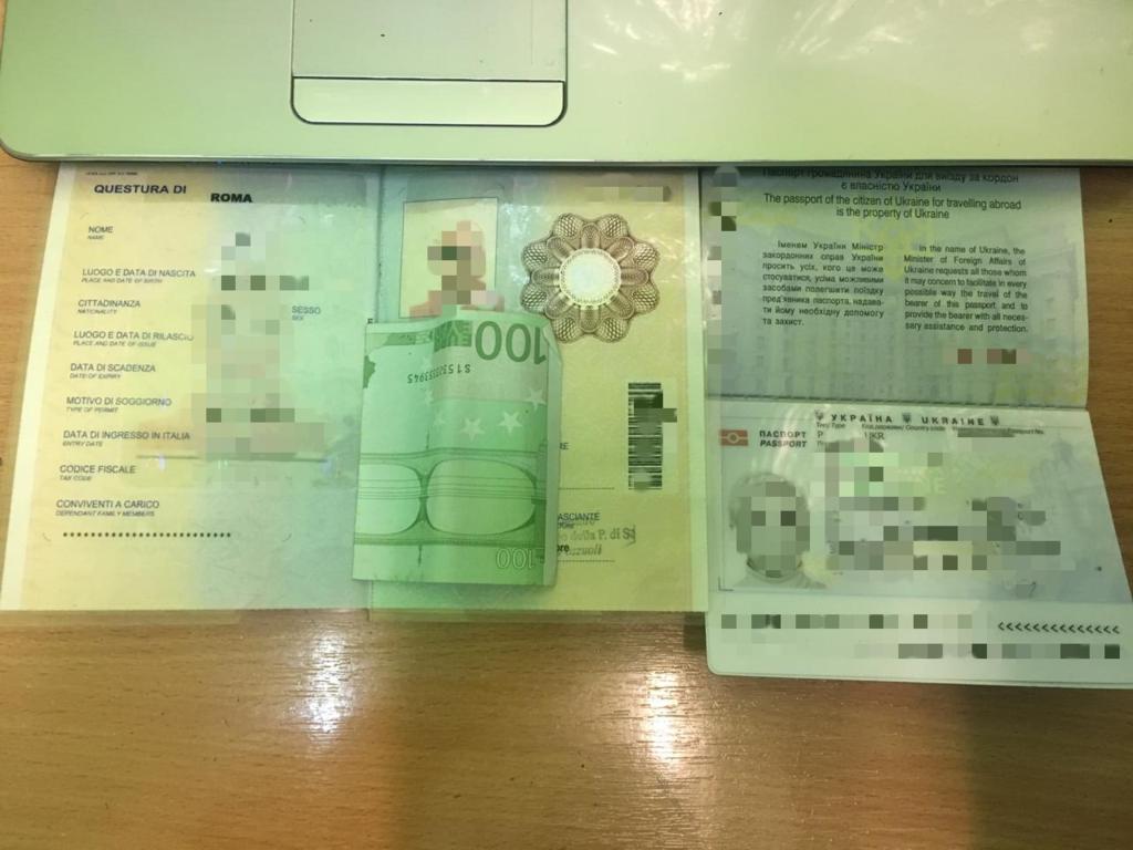 """На КПП """"Лужанка"""" водійка за безперешкодний перетин кордону дала €100 хабара (ФОТО), фото-2"""