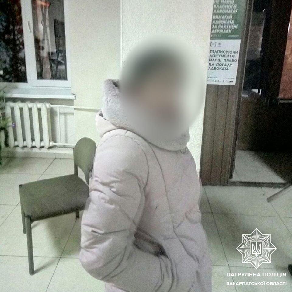 Ужгородець виявив на подвір'ї жінку, яка намагалась проникнути у будинок, фото-1