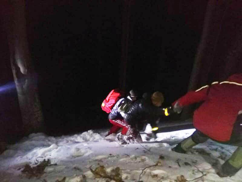 Різдвяний хеппі-енд: на Міжгірщині відшукали двох заблукалих львівян (ФОТО), фото-6