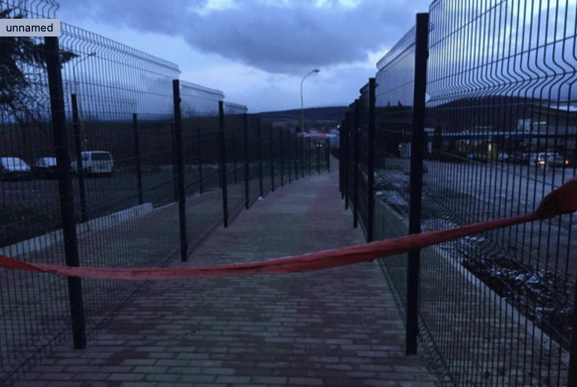 """На КПП """"Ужгород"""" добудували пішохідний перехід зі Словаччиною: коли чекати відкриття? (ФОТО), фото-1"""