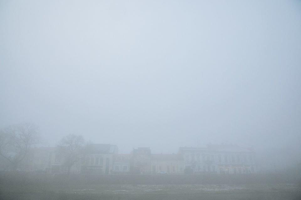 Фото дня: таємничий Ужгород у полоні туману, фото-5