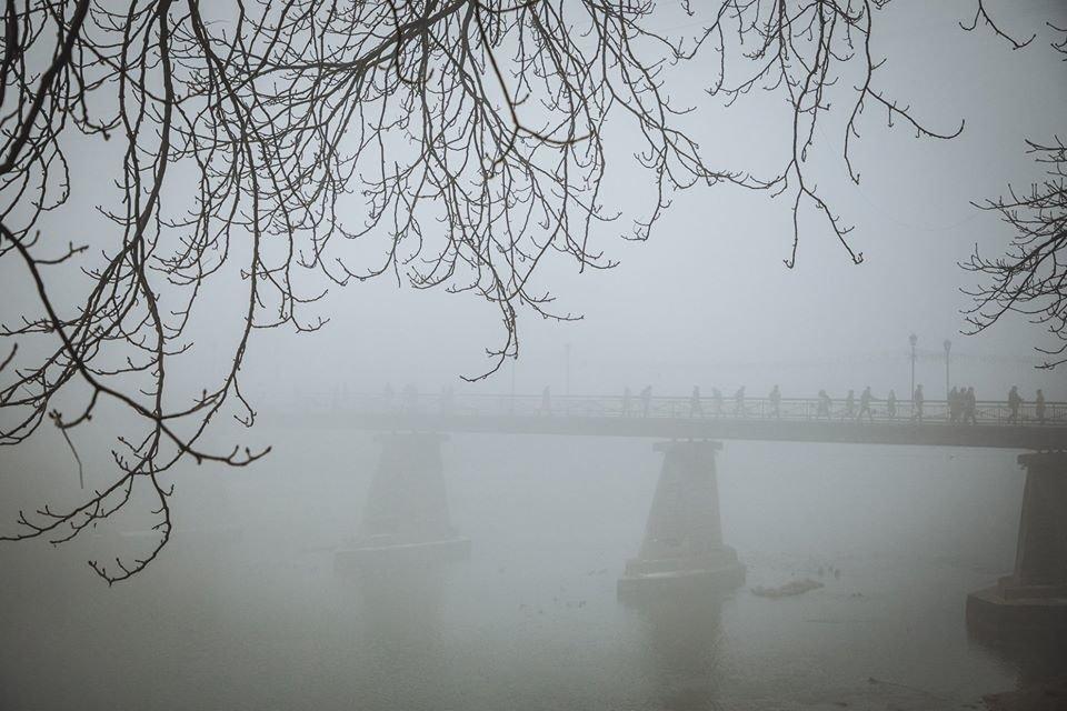 Фото дня: таємничий Ужгород у полоні туману, фото-6