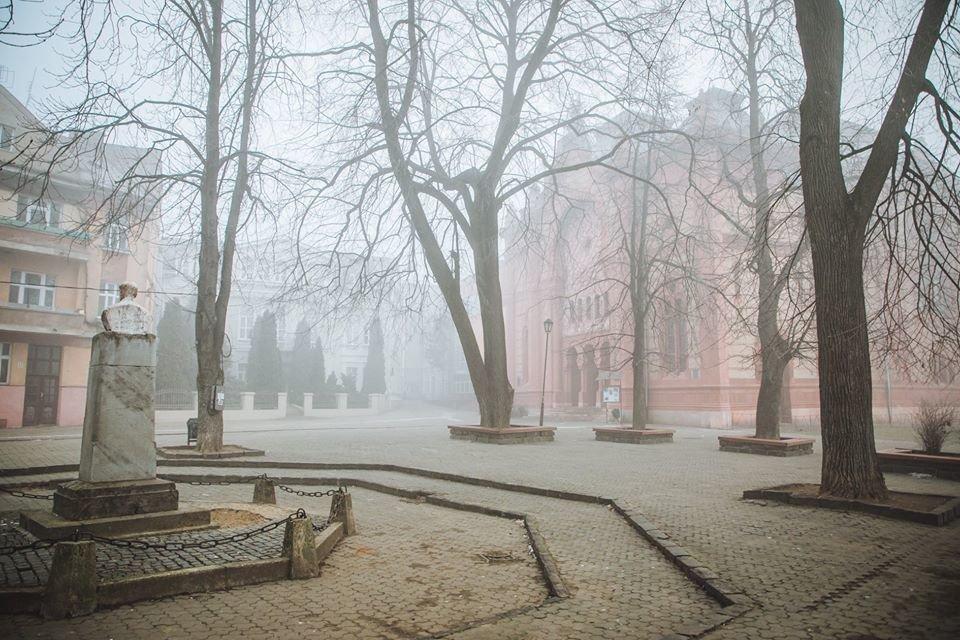 Фото дня: таємничий Ужгород у полоні туману, фото-8