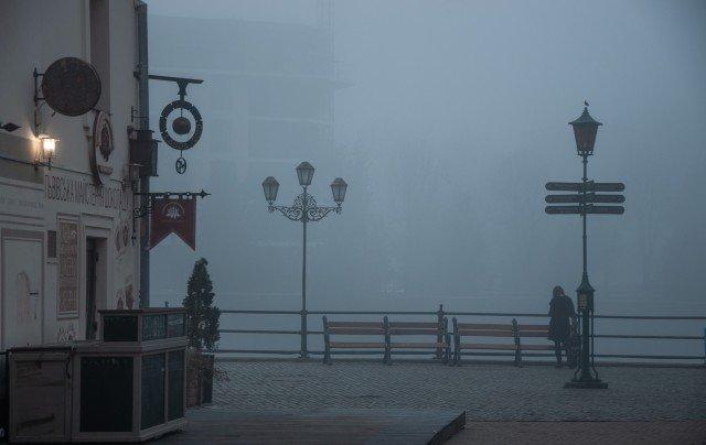 Фото дня: таємничий Ужгород у полоні туману, фото-11