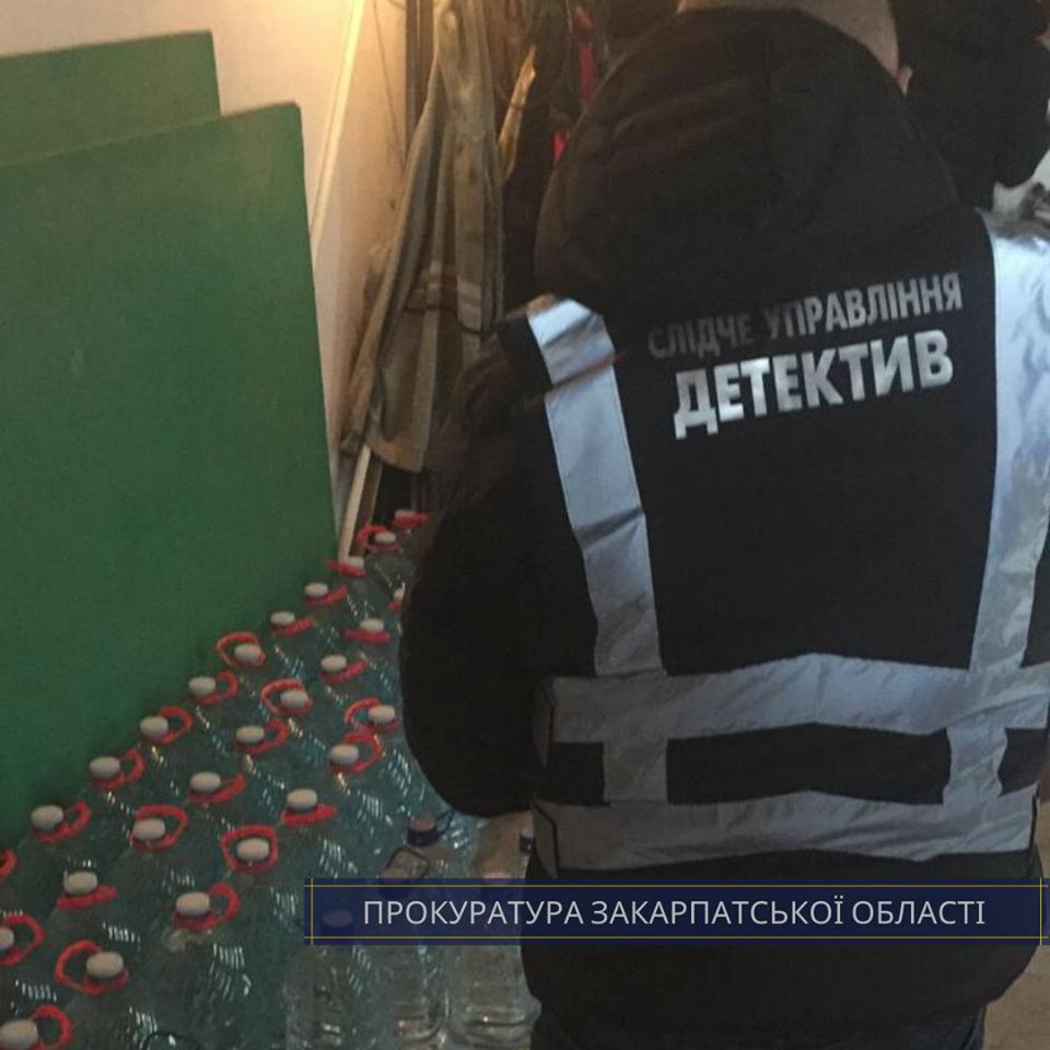 """В Ужгороді """"накрили"""" склад із сурогатним алкоголем - вилучено понад 800 літрів (ФОТО), фото-1"""