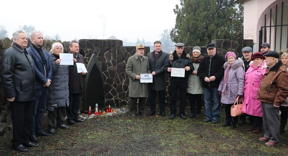 """""""We remember"""" - на Закарпатті вшанували пам'ять жертв Голокосту (ФОТО), фото-1"""