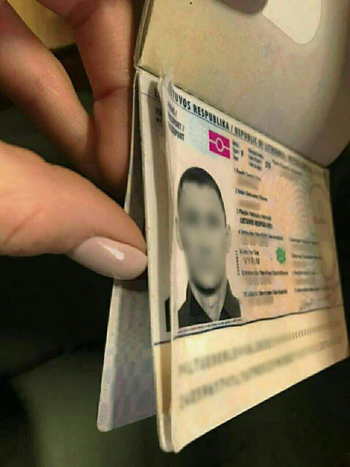 Закарпатські прикордонники затримали росіянина, який намагався виїхати з України за фальшивим паспортом, фото-1