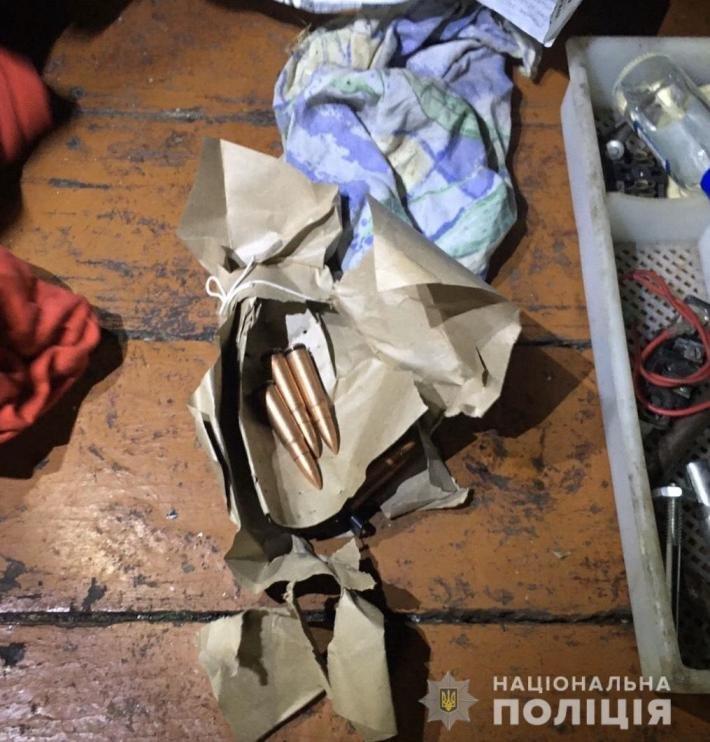 Бойову гранату та набої поліцейські вилучили у закарпатця (ФОТО), фото-2