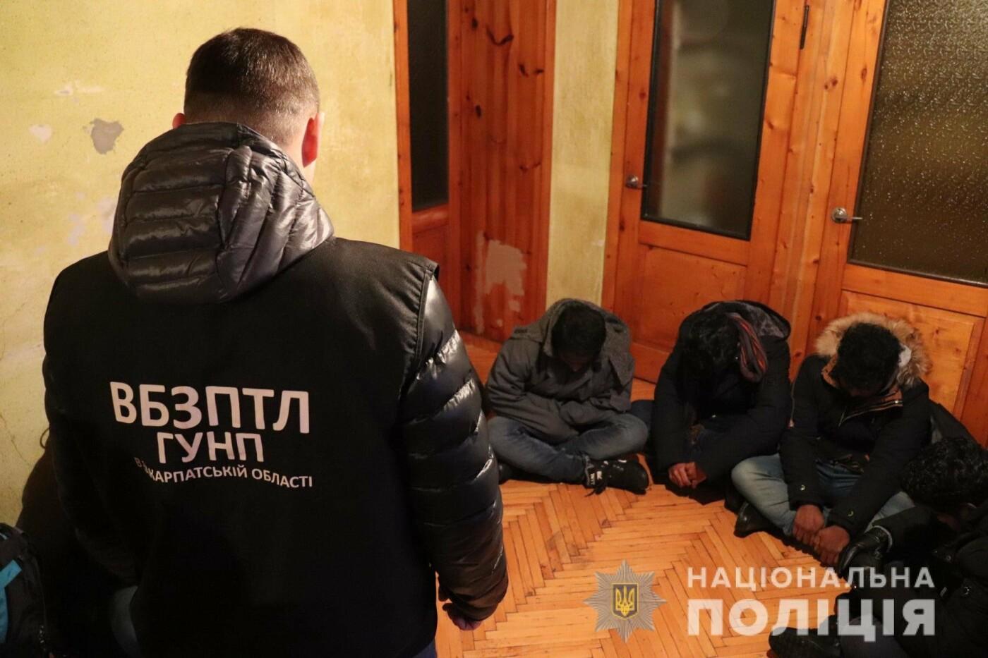 У приватному будинку на Закарпатті виявили 6 нелегалів (ФОТО, ВІДЕО), фото-1